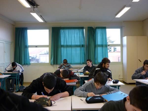 salle de cours des apprentis